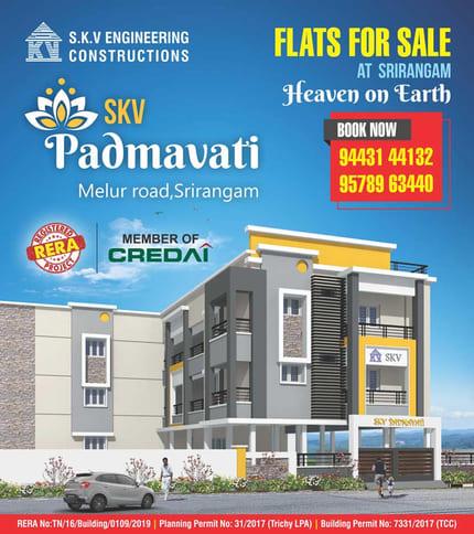 SKV constructions padmavati flats