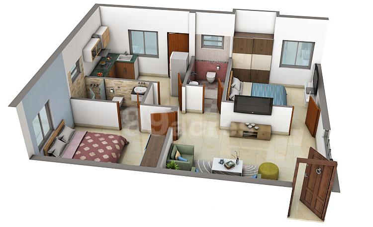 SKV constructions patmavati 3d plan