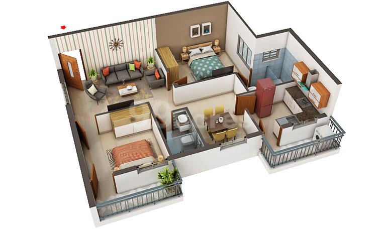 SKV constructions patmavati floorign 3d